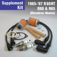 Full Service Supplement Kit for 1985-'87 R65, R80, R80RT