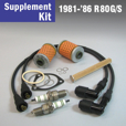 Full Service Supplement Kit for 1981-'86 R80G/S