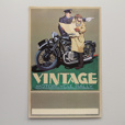 Signed Vintage Rally Poster