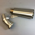 Muffler with Heat Shield for BMW S1000RR