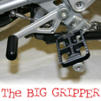 Ilium Works Big Gripper Pegs, R1200/R1250GS & Adventure 2013->