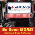 AdMore Lighting High Output Premium LED Light Bar | Running, Brake, Progressive Turn Signals & Smart Brake Technology