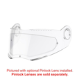 Schuberth Clear Face Shield for C3 Pro, C3 Pro Women, S2, C3, C3W