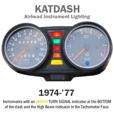 KATDASH LED Instrument Lighting System for 1974-'77 Airheads