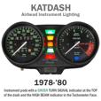 KATDASH LED Instrument Lighting System for 1978-'80 Airheads