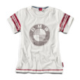 BMW Motorrad Logo Kids Off-White T-Shirt