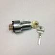 Ignition/Light Switch Lock & Key, 1974 USA Models / 1985-'95 Euro Models