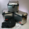 Deluxe BMW ALUMINUM Luggage Set for Variety of GS Models