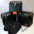 Deluxe BMW ALUMINUM Black Luggage Set for Variety of GS Models