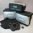 Deluxe BMW VARIO Luggage Set for R1200GS (thru 2012)