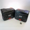 BMW VARIO Black Side Case Set for R1200GS (2013-'18), R1250GS, F850GS, & F750GS