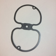 Valve Cover Gasket for 1951-1995 Airhead Twins & Singles