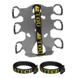 Touratech ZEGA Pro Quick Release Double Bottle Holder w/ Strap Protectors