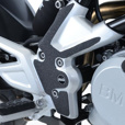 R&G Boot Guard Kit For BMW G310R | 2 Piece - Footrest Mounts