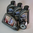 10% OFF! Complete Oil (20W50) Change Kit for Hexhead Twins