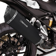 REMUS Black Hawk with Carbon End Cap Exhaust for R1250GS