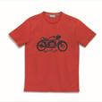 Men's Biker T-Shirt, Red