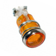 Yellow Indicator Control Light for 1970-1973 BMW Airheads