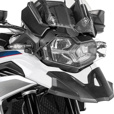 Touratech Quick Release Clear Headlight Guard for BMW F750GS & F850GS