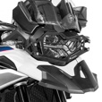 Touratech Quick Release Stainless Steel Headlight Guard BMW F750GS & F850GS | Black