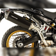 REMUS Black Hawk with Carbon End Cap Exhaust for F750GS & F850GS