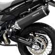 REMUS Black Hawk with Carbon End Cap Exhaust F650GS Twin, F700GS & F800GS
