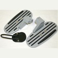 Ilium Works Sportboard & Sidestand Foot Combo for R1200RT thru 2013
