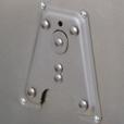 Touratech ZEGA Pro Base Plate for Bottle/Accessory Holders