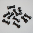 Nylon Windshield Screws, Washers and Nuts (10)
