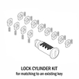 BMW Lock Cylinder Key-Matching Kit - Adventure Cases