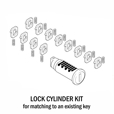 BMW Lock Cylinder Key-Matching Kit - Vario and Sport Cases