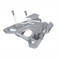 BMW Vario Top Case Mounting Plate Kit, R1250GS & R1200GS(W) 2013-'18