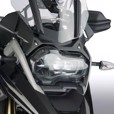 Ztechnik Polycarbonate LED Headlight Guard, R1250GS/GSA & R1200GS/GSA 17-18
