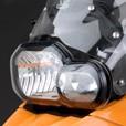 Ztechnik Polycarbonate Headlight Guard, F800GS/R, F650GS (Twin), F700GS