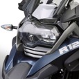 Ztechnik Polycarbonate LED Headlight Guard, R1200GS & Adv 2013-16